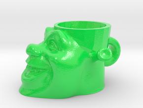 Shrek Cup in Glossy Full Color Sandstone
