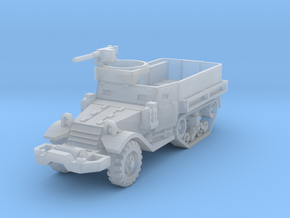M5A1 Half-Track 1/144 in Smooth Fine Detail Plastic