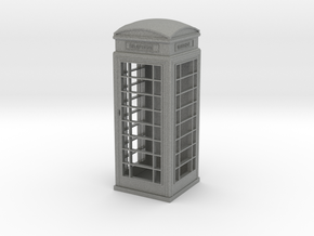 UK Phone Booth 1/24 in Gray PA12