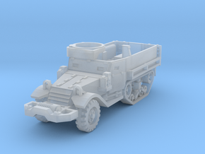 M9A1 Half-Track 1/200 in Smooth Fine Detail Plastic