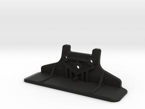 Tamiya TA02 bumper (like Tamiya 53145) in Black Natural Versatile Plastic