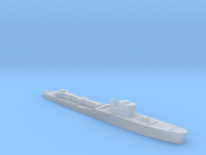 Italian Orsa class torpedo boat 1:1400 WW2 in Smooth Fine Detail Plastic
