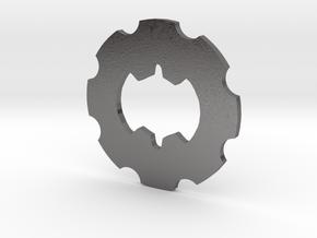 Beyblade Gear-Heavy   Weight Disk   1st Gen   GH in Polished Nickel Steel