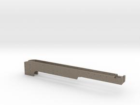 No. 23 Rear Frame Extn. REV4 2-up .625 Plus 1% in Matte Bronzed-Silver Steel