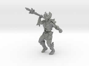 Fire Fiend miniature model fantasy games rpg dnd in Gray PA12