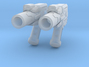 TF-G12a Pulse Mortar Launcher - Side Mount in Smooth Fine Detail Plastic: d00