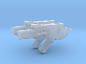 TF-G12a Pulse Mortar Launcher - Under Mount in Smooth Fine Detail Plastic: d00