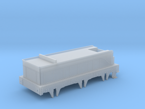 GWR Queen Class Tender 4mm scale in Smooth Fine Detail Plastic