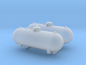 1/87th 500 Gallon Propane tanks in Smooth Fine Detail Plastic