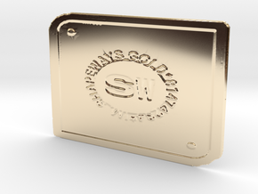 SWG 81474234 in 14k Gold Plated Brass