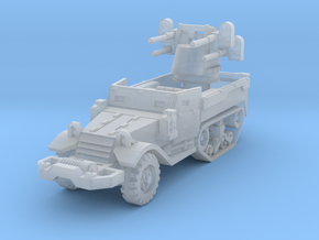 M17 AA Half-Track 1/144 in Smooth Fine Detail Plastic