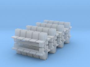 Platform Seats (x16) 1/350 in Smooth Fine Detail Plastic