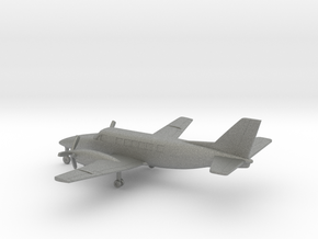 Beechcraft Model 99 Airliner in Gray PA12: 1:200