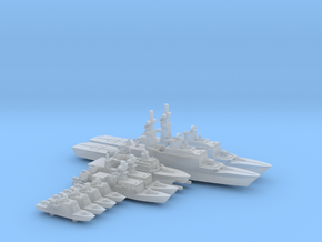 TAIWAN MISSILE BOAT set WL - 1800 in Smooth Fine Detail Plastic