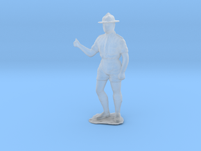 O Scale Boy Scout in Smooth Fine Detail Plastic