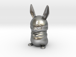 bowie the bunny in Natural Silver