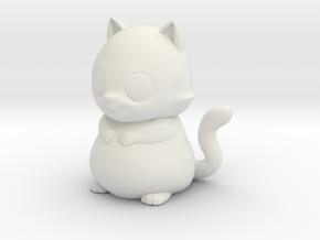 scotty the cat  in White Natural Versatile Plastic