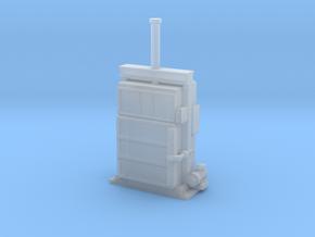 N Scale Cardboard Baler in Smooth Fine Detail Plastic