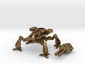 Terran Artillery Walker in Natural Bronze