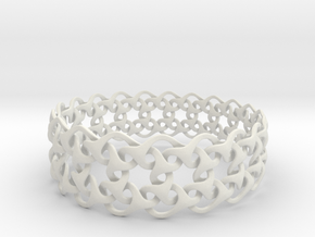 Bracelet V  in Polished Silver