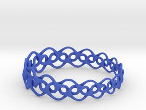 Bracelet I Medium in Blue Strong & Flexible Polished