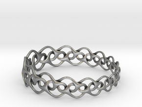 Bracelet I Medium in Natural Silver