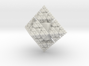 Octa Cubes in White Natural Versatile Plastic