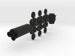 Tube Ship in Black Strong & Flexible