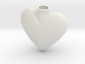 heart thing2 in White Natural Versatile Plastic