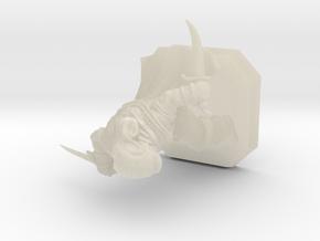 Thief miniature in White Acrylic