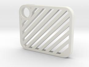 Flash Cover Slatted in White Natural Versatile Plastic
