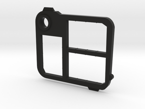 Flash Holder Mem Stick Pro Duo in Black Strong & Flexible