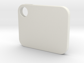 Flash Cover Solid in White Natural Versatile Plastic