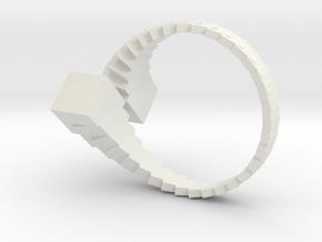 bague20_18mm in White Natural Versatile Plastic