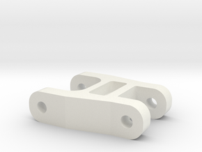 JDH-ar_h_arm.stl in White Natural Versatile Plastic