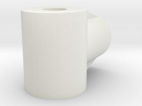 JDH-ar_t_link.stl in White Natural Versatile Plastic