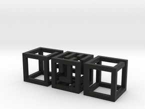 Big MazeNCubes in Black Strong & Flexible