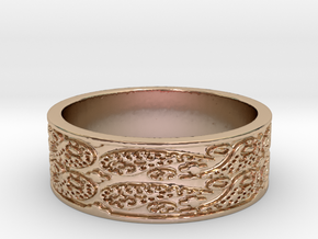Paisley (Size 7.5) in 14k Rose Gold