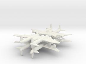 8 bi-Fighter x4 in White Natural Versatile Plastic