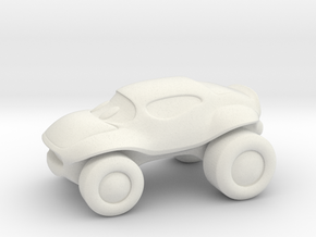 Smaller buggy in White Natural Versatile Plastic