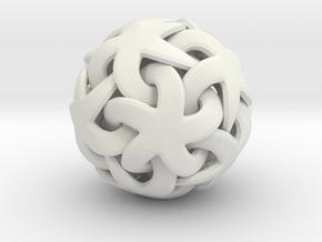 Modeltest02 - thicker in White Natural Versatile Plastic