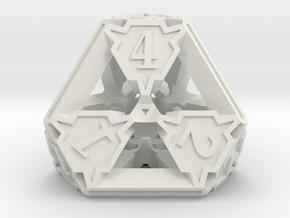 Premier d4 in White Natural Versatile Plastic