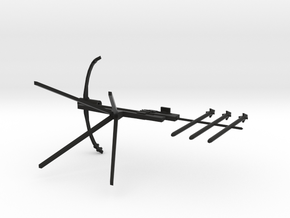 Crossbow resized in Black Strong & Flexible