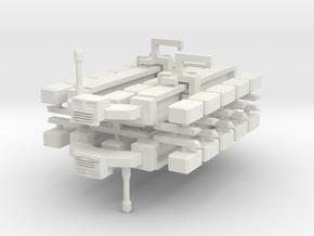 Cargo Spaceship x2 in White Natural Versatile Plastic