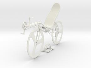recumbent bike design in White Natural Versatile Plastic