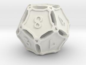 Premier d12 in White Natural Versatile Plastic