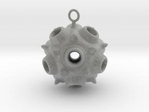 spore earring 1 in Metallic Plastic