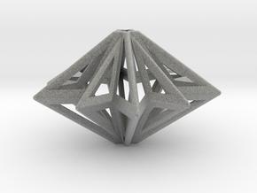 Star in Metallic Plastic