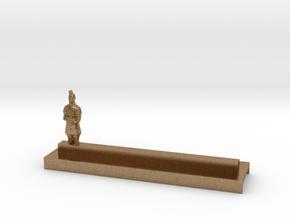 Porte Couteau Soldat 1 Xian in Natural Brass