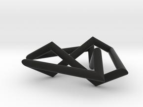 Trefoil small in Black Strong & Flexible